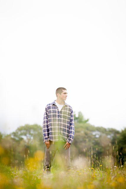 Sam - High School Senior Photo - Maine