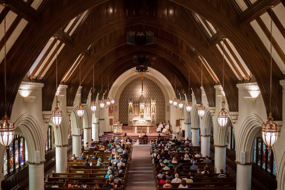 Our Lady of the Assumption Church - Augusta, Maine Wedding - (c) 5iveLeaf Photography