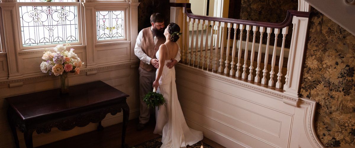 Wedding Governor Hill Mansion Augusta Maine 5iveLeaf Photography