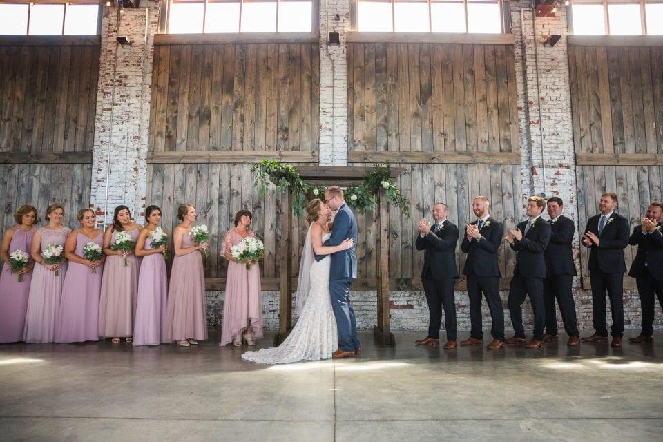 Thompson's Point Wedding. Brick South - (c) 5iveLeaf Photography